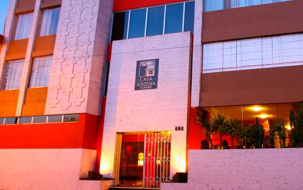 Hoteles en arequipa tarifas y reservas for Casa andina classic arequipa