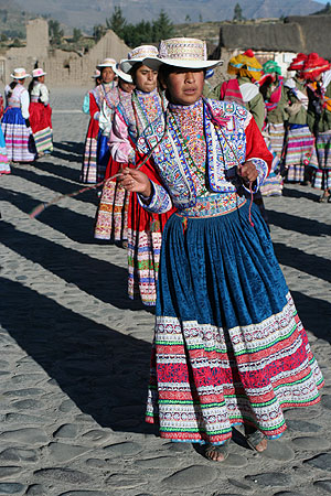 Natives of Colca Valley