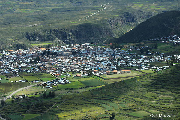 Chivay Town - Colca Valley