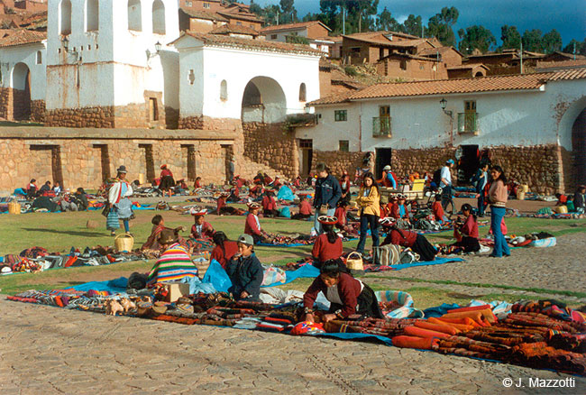 Mercado Indio en Chinchero