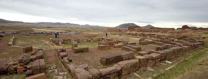 Archaeological places in Puno