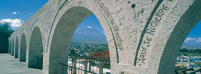 Travel to Arequipa by bus