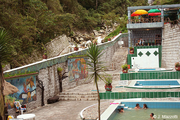 Hot Springs in Machu Picchu Town