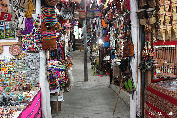 Indian Market in Machu Picchu Town