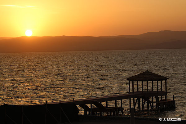 Sunset in Paracas