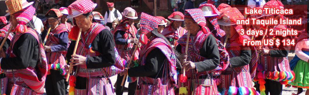 Tour Package Puno and Taquile Island 3 days