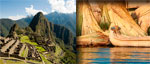 Tour Cusco, Machu Picchu with overnight and Puno (7 days / 6 nights)